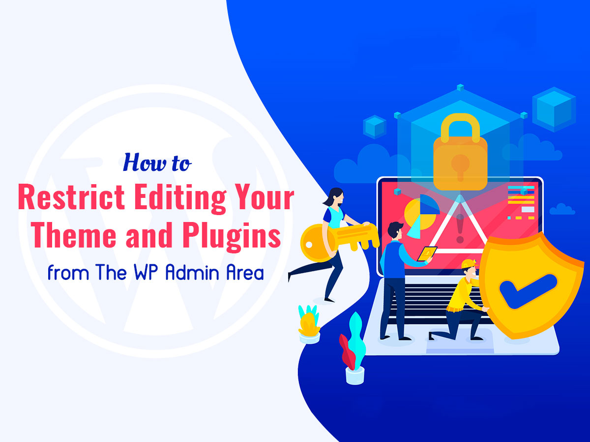 How to Restrict Editing Your Theme and Plugins From The WP Admin Area
