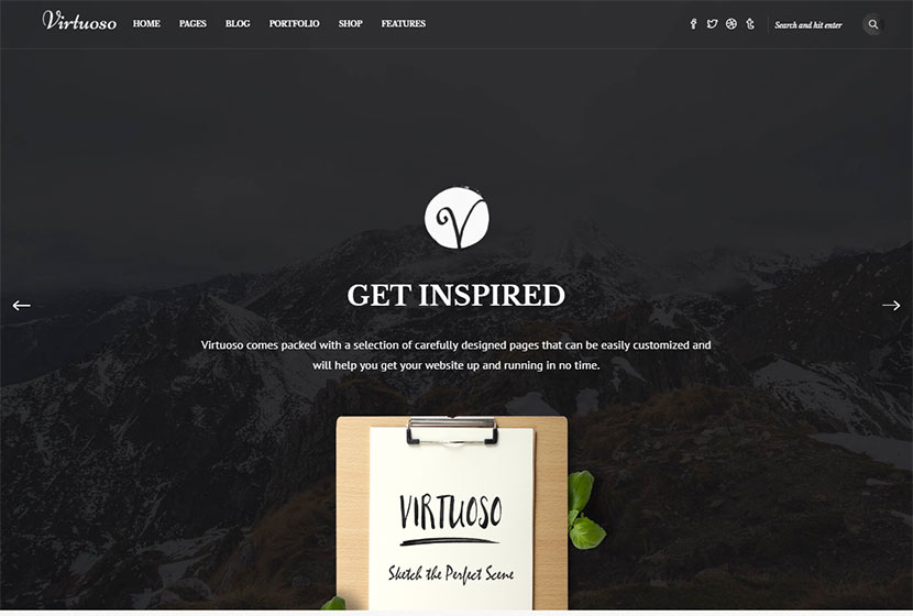Top 20 Illustrator Portfolio WordPress Themes - WP Daddy