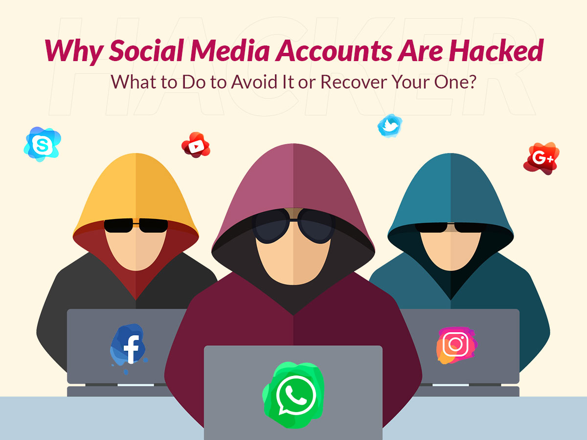 Why Social Media Accounts Are Hacke and What to Do to Avoid It or Recover Your One