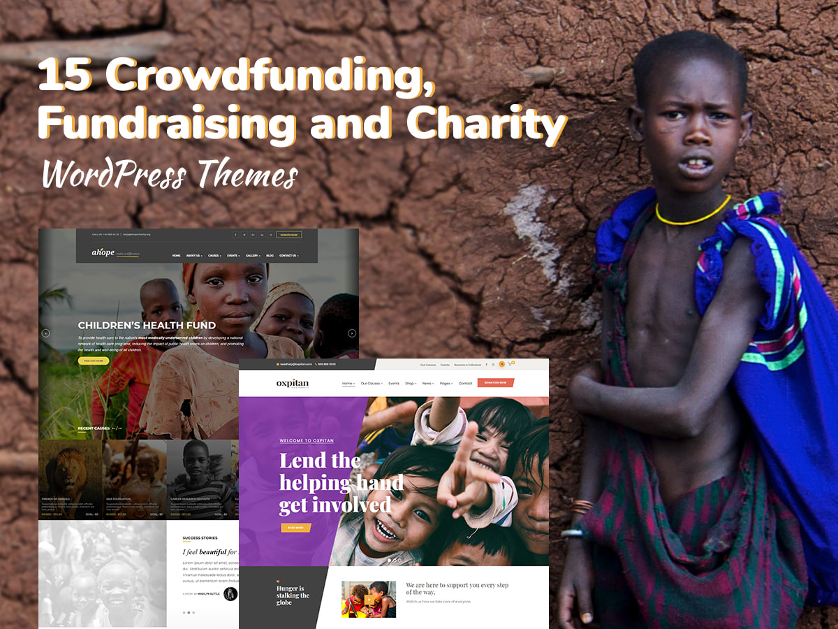 15 Crowdfunding, Fundraising and Charity WordPress Themes for Non-Profits and Startup Donations