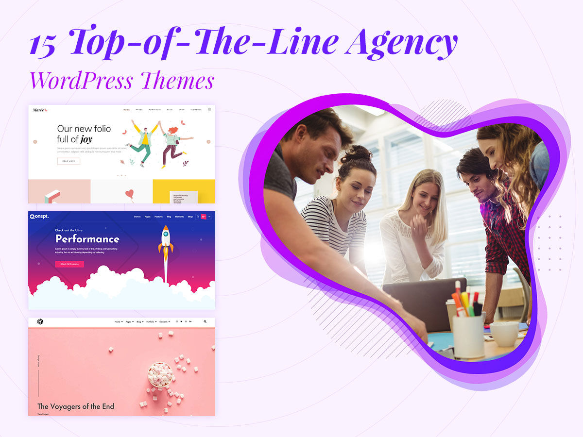 15 Top-of-The-Line Agency WordPress Themes for Companies and Individuals
