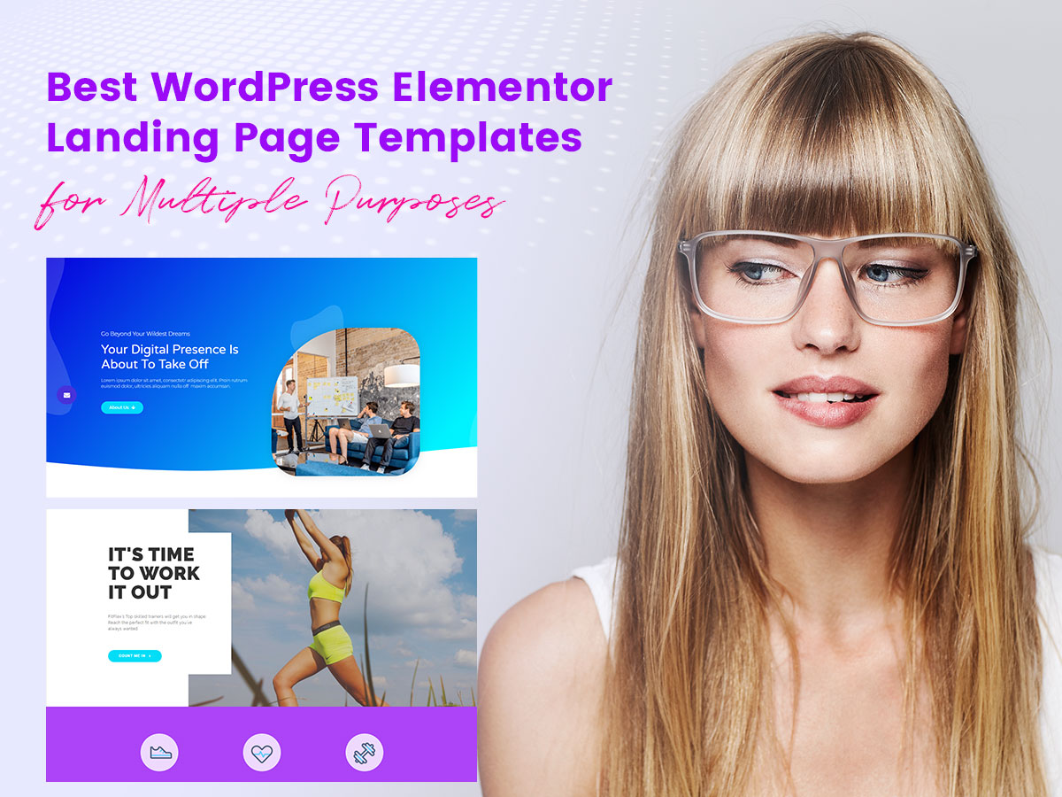 Best WordPress Elementor Landing Page Templates for Multiple Purposes
