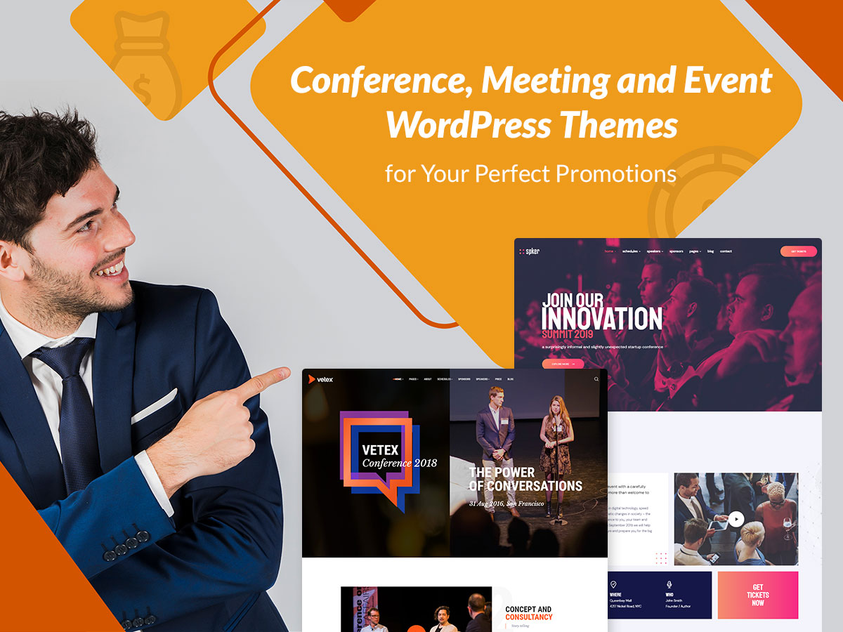 Conference, Meeting and Event WordPress Themes for Your Perfect Promotions