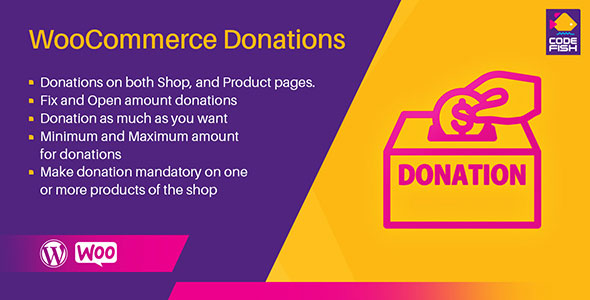 Donation for WooCommerce - Donation Plugin