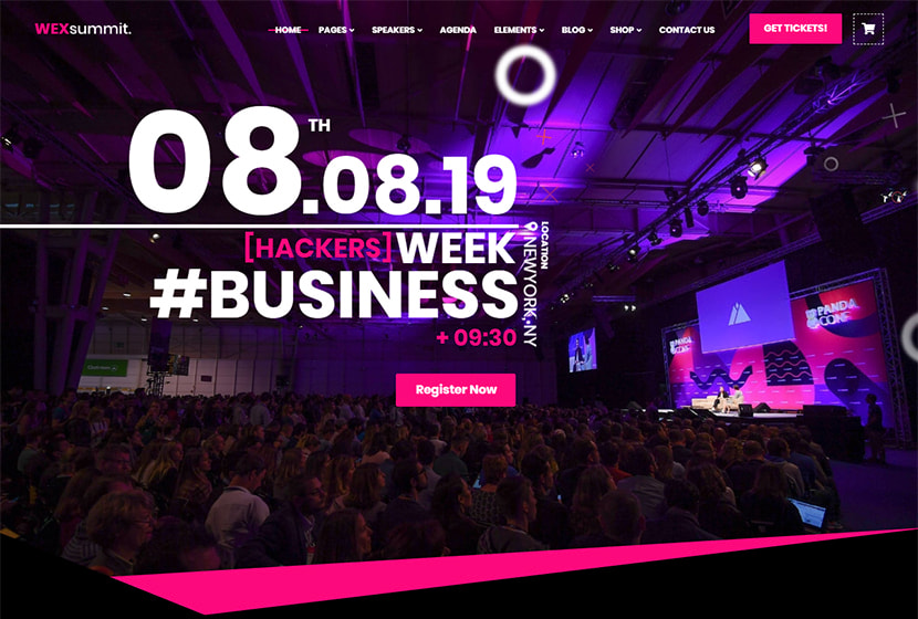 Conference Meeting And Event Wordpress Themes Wp Daddy