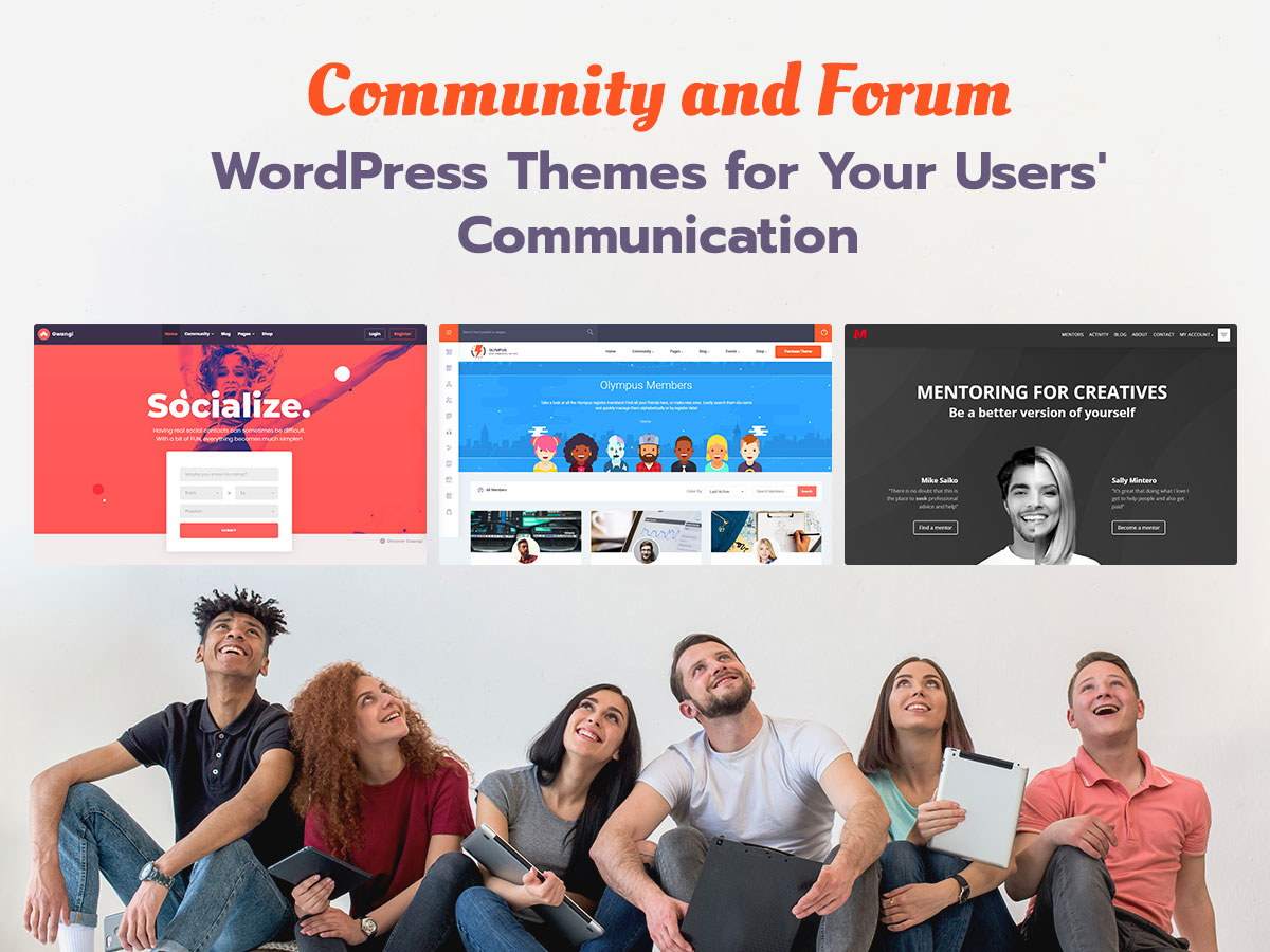 Community and Forums WordPress Themes for Your Users' Communication