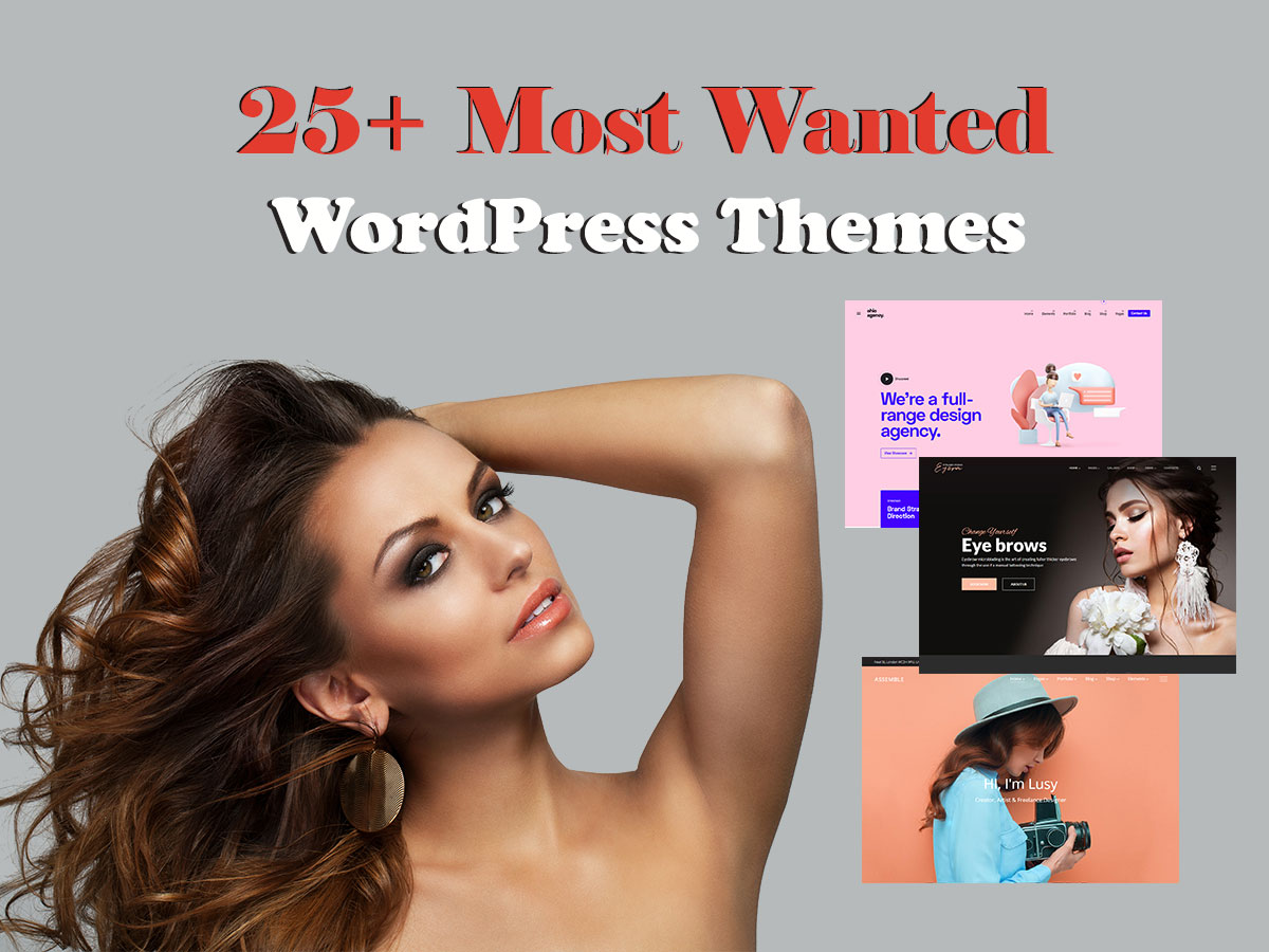 25 most wanted wp themes