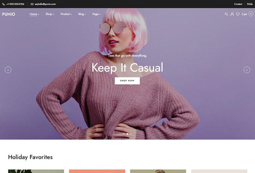 Punio – All-in-one WooCommerce WordPress Theme