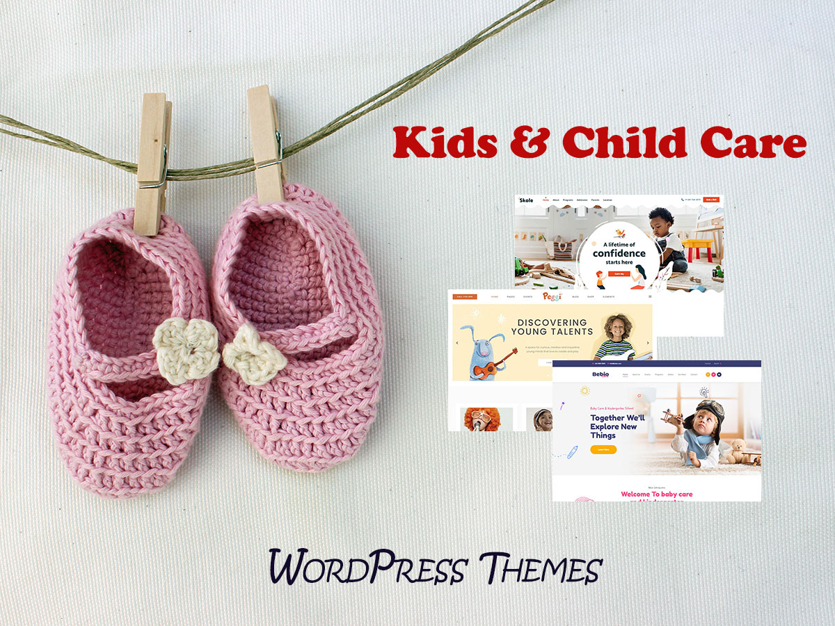 Kids & Child Care WordPress Themes
