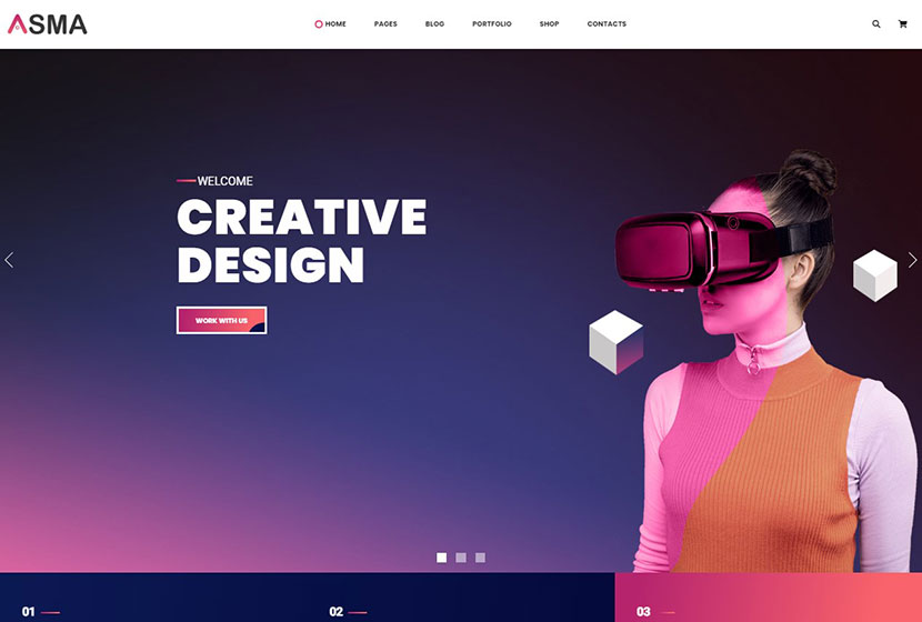 Asma Creative Agency WordPress Theme